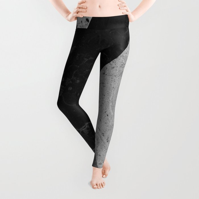 Marble and Granite Abstract Leggings