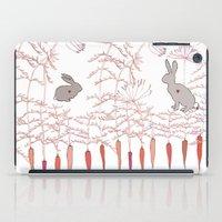 rabbits iPad Cases featuring Rabbits by Fay's Studio