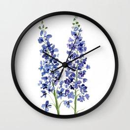 Wild Flower Power Wall Clock