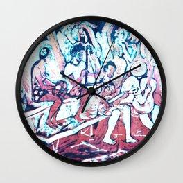 Island Harmony, Noumea                      by Kay Lipton Wall Clock