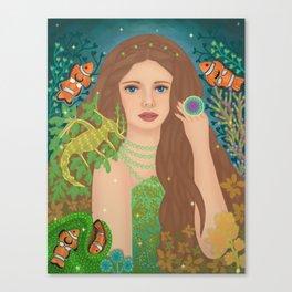 Mermaid Life Canvas Print