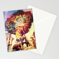 He Came At The Very End Stationery Cards