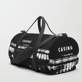 Black & White-Casino Duffle Bag