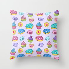 Sweets #3 Throw Pillow