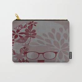 Afro Diva : Burgundy Sophisticated Lady  Carry-All Pouch