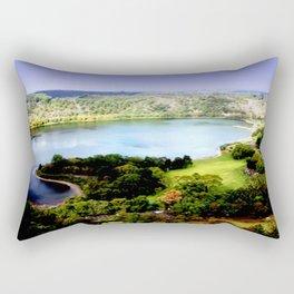 Leg of Mutton Lake Rectangular Pillow