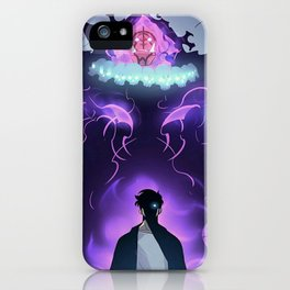 Solo Leveling/ Sung Jin Woo iPhone Case