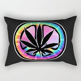 Peace Leaf Rectangular Pillow