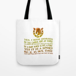 The Best Horse Ever! Tote Bag
