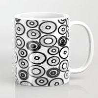 steampunk Mugs featuring SteamPunk by sasan p