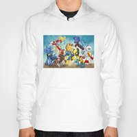 mlp Hoodies featuring MLP X-Men by Kimball Gray