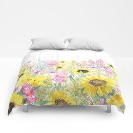 Summer Garden (Sunflower Passion) Comforters