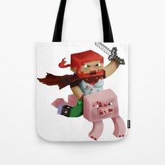 Minecraft Avatar H00j0 Tote Bag