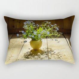 Forget-me-nots Rectangular Pillow