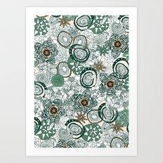 succulents limited Art Print