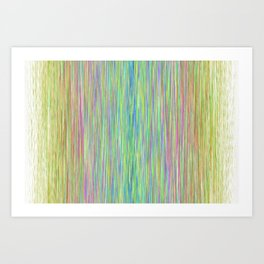 rain static Art Print