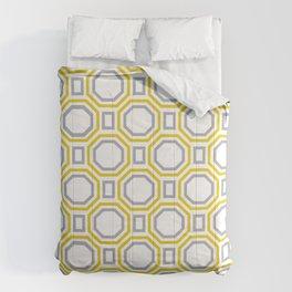Gold Harmony in Symmetry Comforters