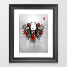 Akane Framed Art Print