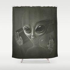 Alien Shower Curtain