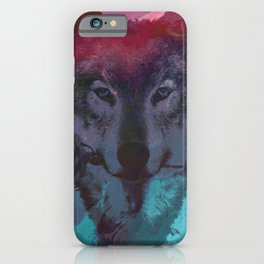 the wolf 7 iPhone Case