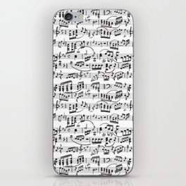 Music Pattern | Note Instrument Musical Listening iPhone Skin
