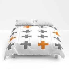 Swiss cross / plus sign Comforters