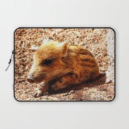 CArt wild boar baby Laptop Sleeve