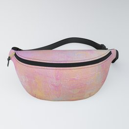 Cotton Candy Abstract Fanny Pack