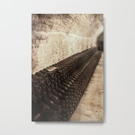 Bottled Up (Wine) Metal Print