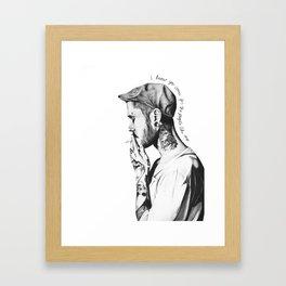 People Like Me Framed Art Print
