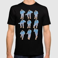 Hotline bling Mens Fitted Tee Black LARGE