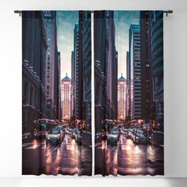 Chicago Street Blackout Curtain