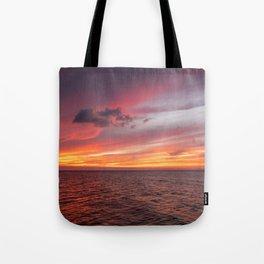Holbox Sunset Tote Bag
