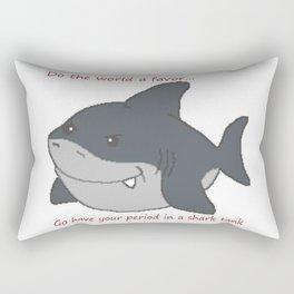 Hungry Shark Rectangular Pillow