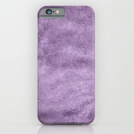 Violet wall iPhone Case