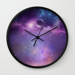 Trip to Neptune Wall Clock
