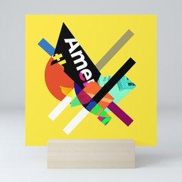 America Mini Art Print