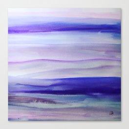 Purple Mountains' Majesty Canvas Print