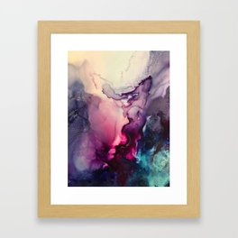 Mission Fusion - Mixed Media Painting Framed Art Print