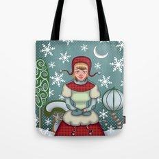 peaceful snow  Tote Bag