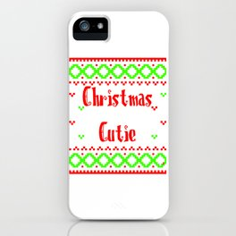 Christmas Cutie2 iPhone Case