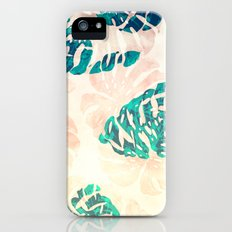 CALI TROPICAL LEAVES iPhone (5, 5s) Slim Case