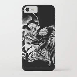 Kiss The Skull iPhone Case