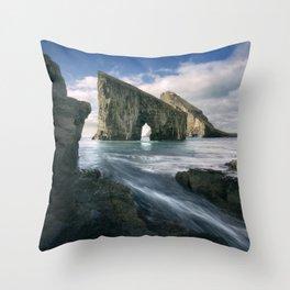 Drangarnir Throw Pillow