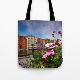 Flowers In Trondheim Tote Bag