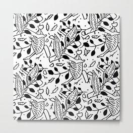 Scrambled Metal Print