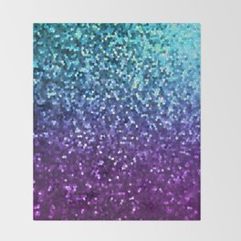Mosaic Sparkley Texture G198 Throw Blanket