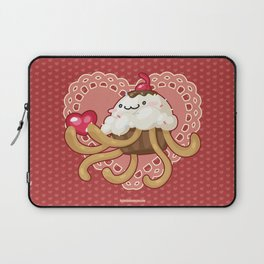 Cupcake Jellyfish Love Laptop Sleeve