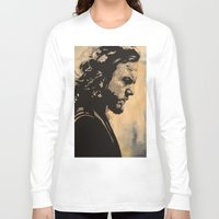 eddie vedder Long Sleeve T-shirts featuring Eddie  by lyneth Morgan