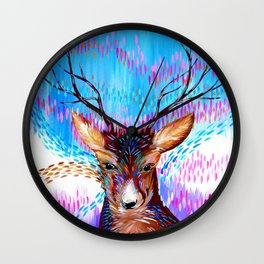 Fantasy Deer Wall Clock